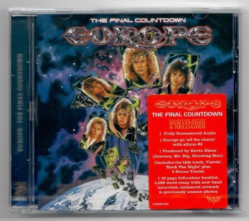 Europe – The Final Countdown (Rock Candy Remaster 2019)