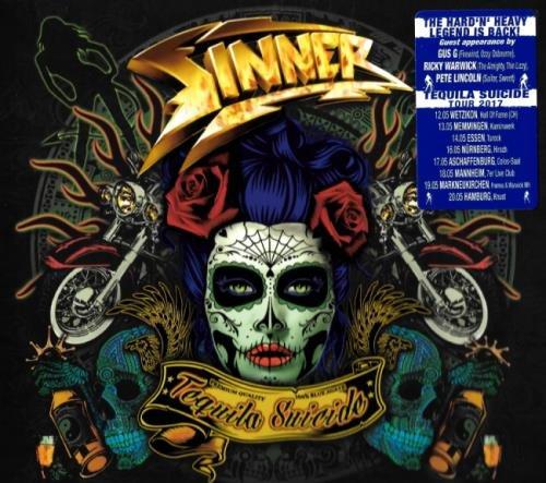 Sinner - Теquilа Suiсidе [Limitеd Еditiоn] (2017)