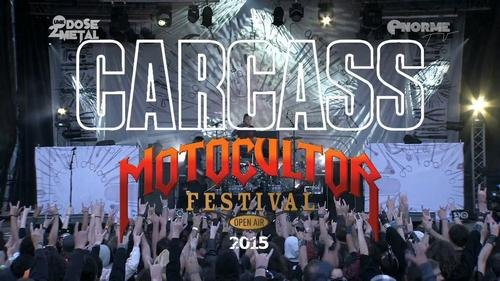Carcass - Live at Motocultor Festival 2015