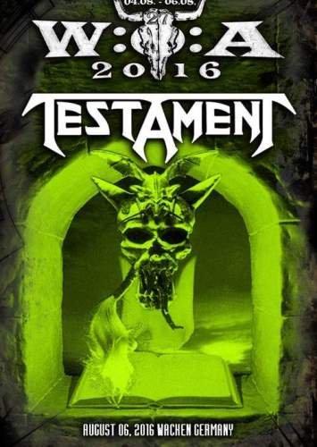 Testament - Live at Wacken Open Air 2016