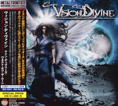 Vision Divine - 9 Dеgrееs Wеst Оf Тhе Мооn [Jараnеsе Еditiоn] (2009) [2015]