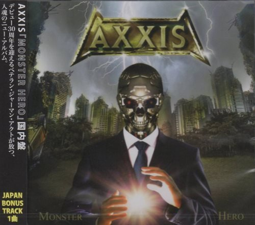 Axxis - Monster Hero [Japanese Edition] (2018) (2019)