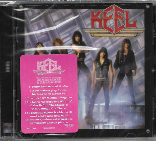 Keel – Keel/The Final Frontier (Rock Candy Remaster 2019)