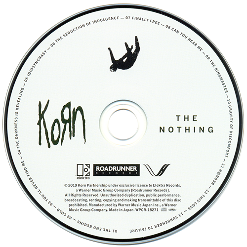 Korn - The Nothing (Japanese Edition) (2019)