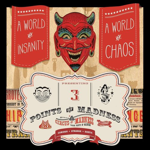 Three Points of Madness - Circus of Madness (2019)