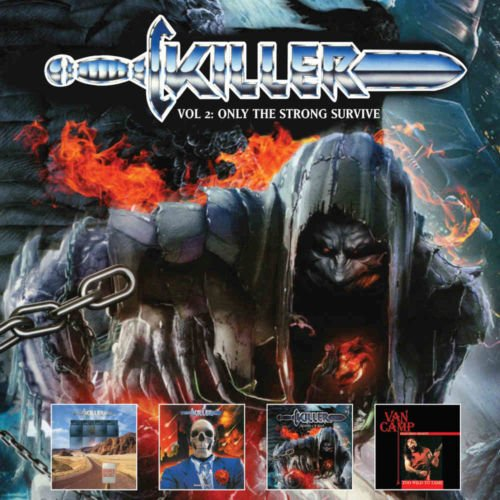 Killer - Volume Two: Only The Strong Survive 1988-2015, (4CD Boxset 2019)