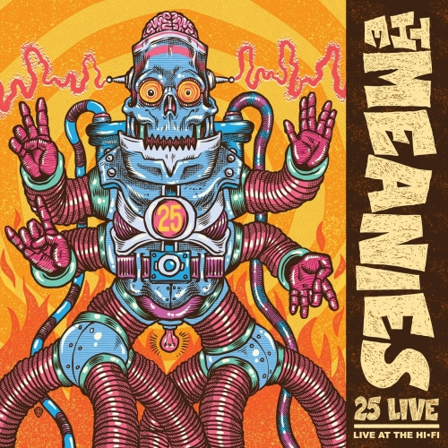 The Meanies - 25 Live (2019)