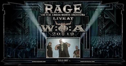Rage & Orchestra (Lingua Mortis Orchestra) - Wacken Open Air 2019