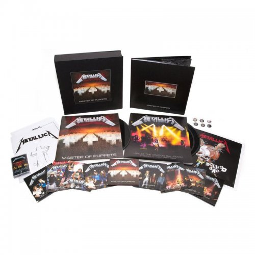 Metallica - Master Of Puppets (Deluxe Box Set 10 CD, Remastered) (2017)