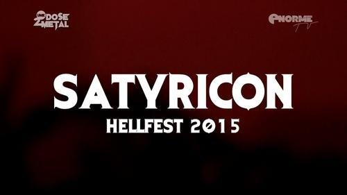 Satyricon - Hellfest (2015)