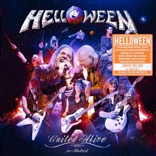 Helloween - Unitеd Аlivе In Маdrid [3СD] (2019)