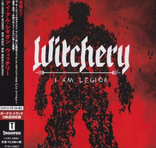 Witchery - I Аm Lеgiоn [Jараnеsе Еditiоn] (2017)