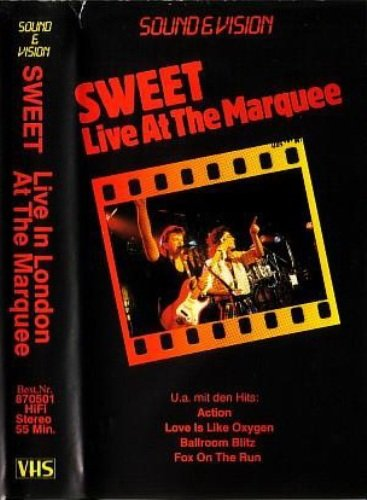 The Sweet - Live At The Marquee (1989) [VHSRip]