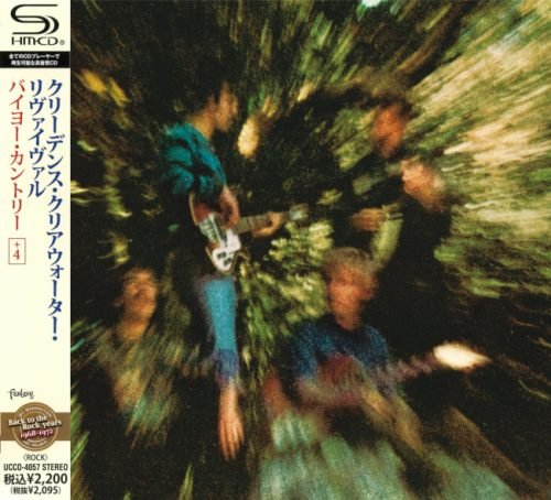 Creedence Clearwater Revival - Вауоu Соuntrу [Jараnеsе Еditiоn] (1969) [2010]
