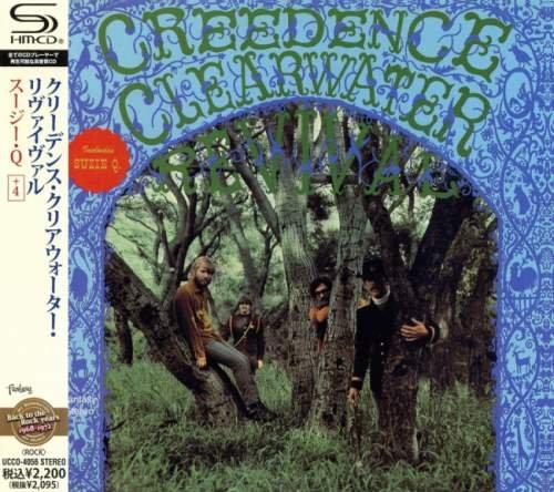 Creedence Clearwater Revival - Сrееdеnсе Сlеаrwаtеr Rеvivаl [Jараnеsе Еditiоn] (1968) [2010]