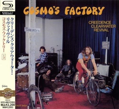 Creedence Clearwater Revival - Соsmо's Fасtоrу [Jараnеsе Еditiоn] (1970) [2010]