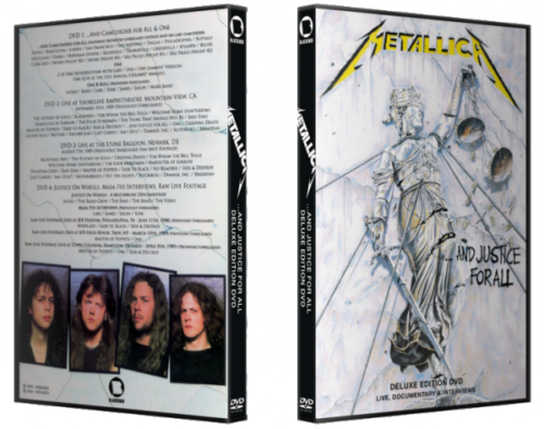 Metallica – …And Justice For All (Deluxe Edition) (2018) (4xDVD5)