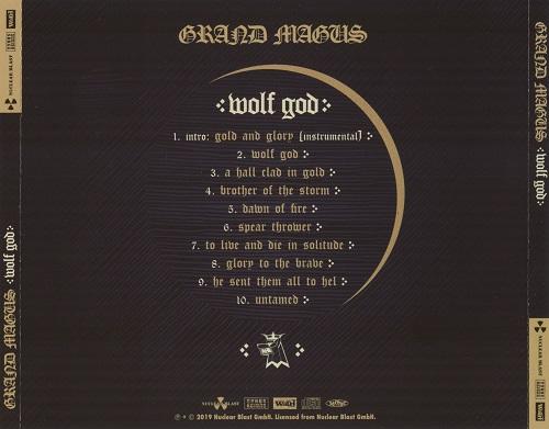 Grand Magus - Wolf God (Japanese Edition) (2019)