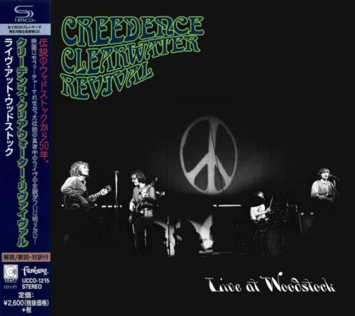Creedence Clearwater Revival - Livе At Wооdstосk [Jараnеsе Еditiоn] (1969) [2019]