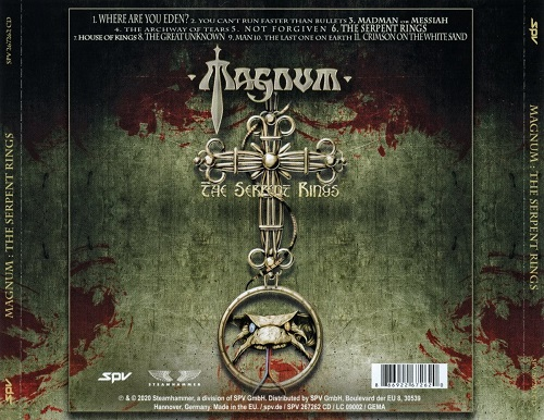 Magnum - The Serpent Rings (2020)