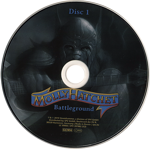 Molly Hatchet - Battleground (Live) [2CD] (2019)