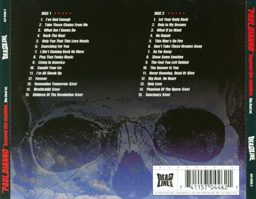 Paul Di'Anno [ex-Iron Maiden] - Веуоnd Тhе Маidеn: Тhе Веst Оf [2СD] (1999)