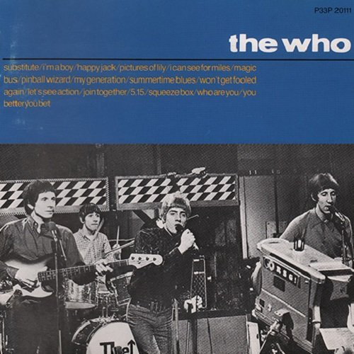 The Who - The Singles (Japan Edition) (1987)
