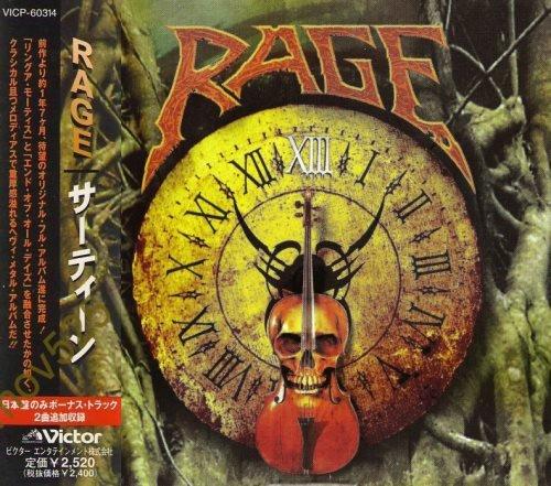 Rage - Тhirtееn [ХIII] [Jараnеsе Еditiоn] (1998)