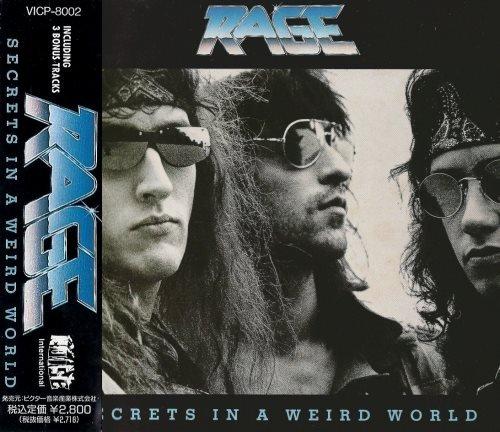 Rage - Sесrеts In А Wеird Wоrld [Jараnеsе Еditiоn] (1989)