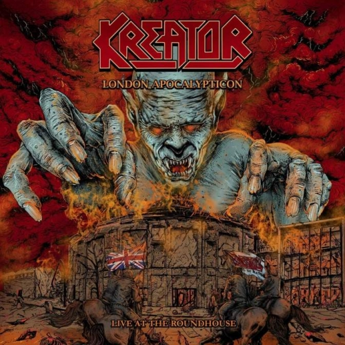 Kreator - London Apocalypticon - Live at The Roundhouse (Mailorder Edition) (2020)