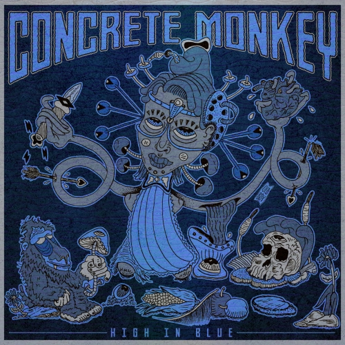 Concrete Monkey - High in Blue (2020)