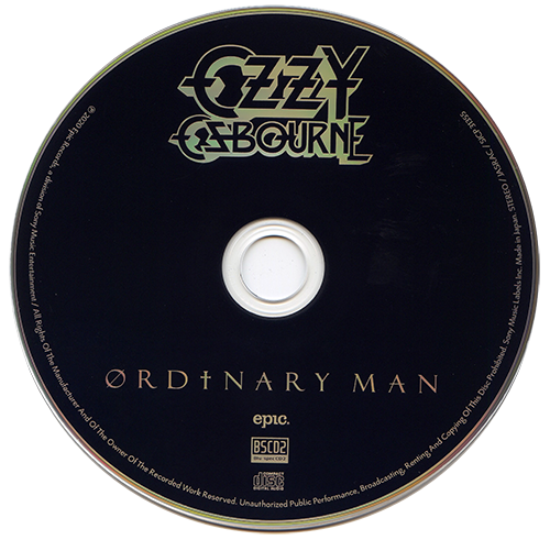 Ozzy Osbourne - Ordinary Man (Japanese Edition) (2020)