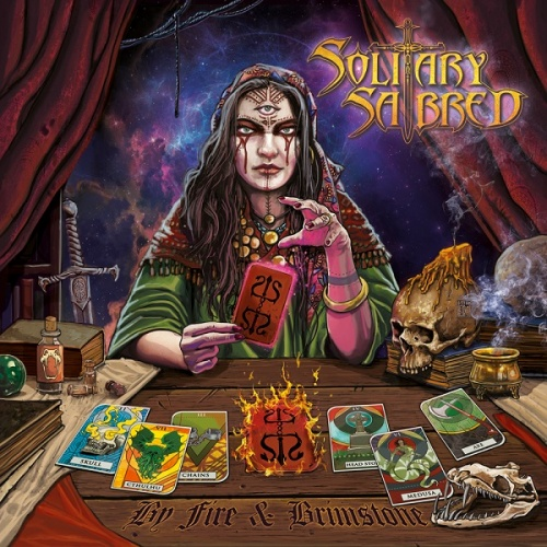 Solitary Sabred - By Fire & Brimstone (2020)