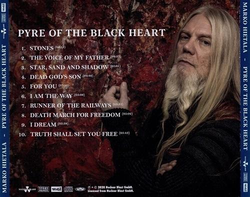 Marko Hietala (Nightwish) - Pyre Of The Black Heart (Japanese Edition) (2020)