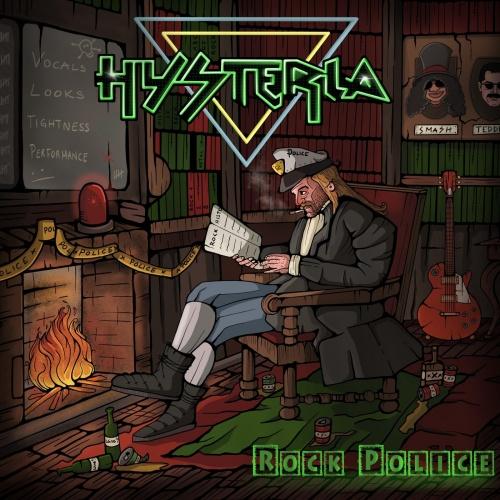 Hysteria - Rock Police (2020)