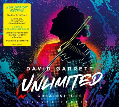David Garrett - Unlimitеd: Grеаtеst Нits [2СD] (2018)