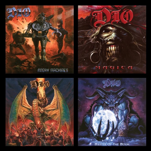 DIO (Ronnie James Dio) - The Studio Album Collection: 1996-2004 (Remastered 2019) (2020)