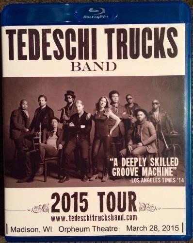 Tedeschi Trucks Band - Orpheum Theatre (2015)