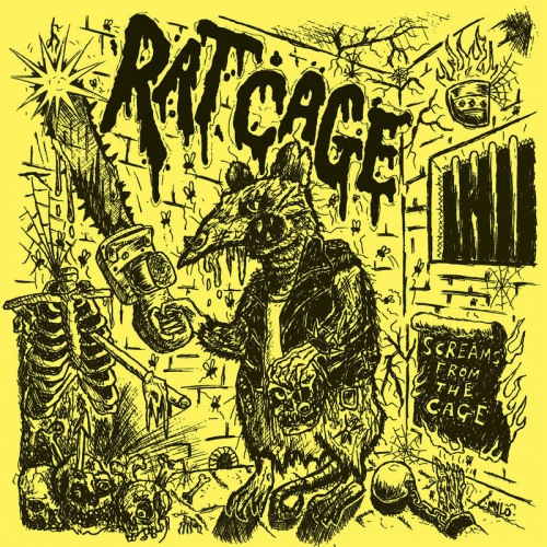 Rat Cage - Screams From The Cage (2020)