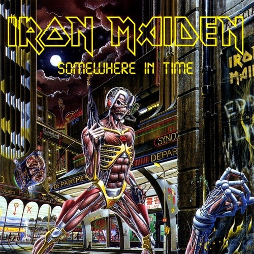 Iron Maiden ‎– Somewhere In Time (Remastered Parlophone 2019)