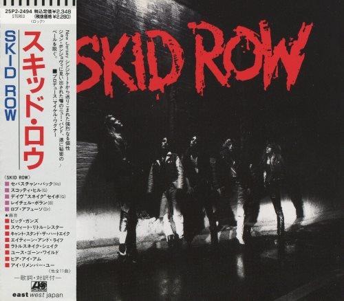 Skid Row - Skid Rоw [Jараnеsе Еditiоn] (1989)