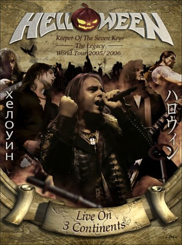 Helloween - Live On 3 Continents (2007)
