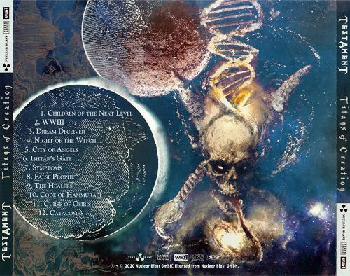 Testament - Titans of Creation (Japanese Edition) (2020)