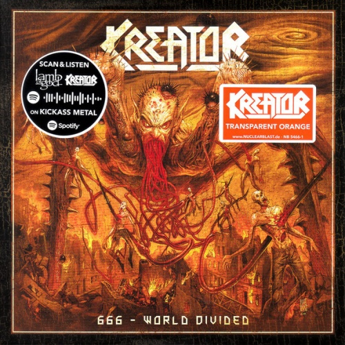 Kreator / Lamb of God - 666 - World Divided / Checkmate (2020) [Limited Edition Vinyl]