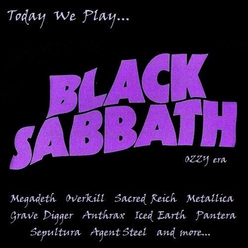 Various Artists - Today We Play... Black Sabbath (Ozzy Era) (2020)
