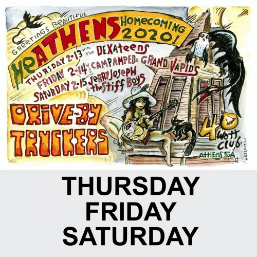 Drive-By Truckers - Heathens Homecoming 2020 [2020] [Live album]
