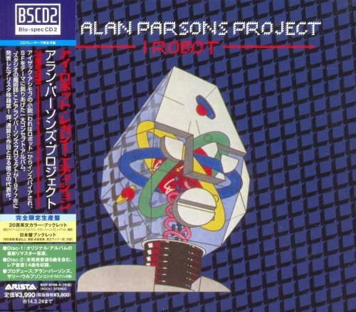 The Alan Parsons Project - I Rоbоt (2СD) [Jараnesе Еditiоn] (1977) [2013]