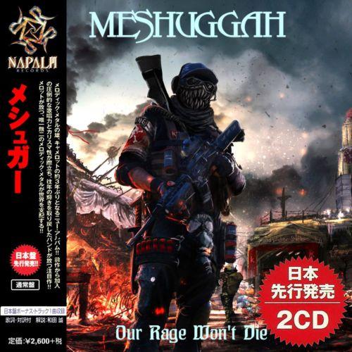 Meshuggah – Our Rage Won't Die (Bootleg Japan Edition) 2020, 2 CD