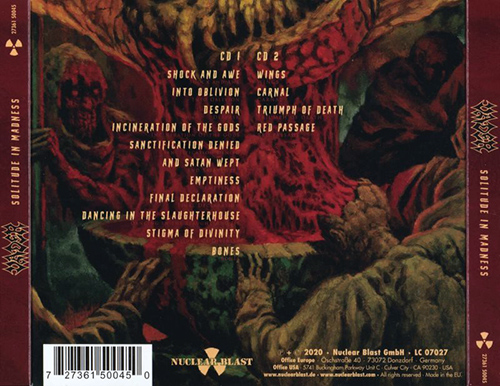 Vader - Solitude in Madness (2CD Mailorder Edition) (2020)