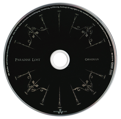 Paradise Lost - Obsidian (Limited Edition) (2020)